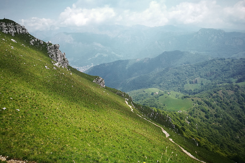 Monte Due Mani Vallata