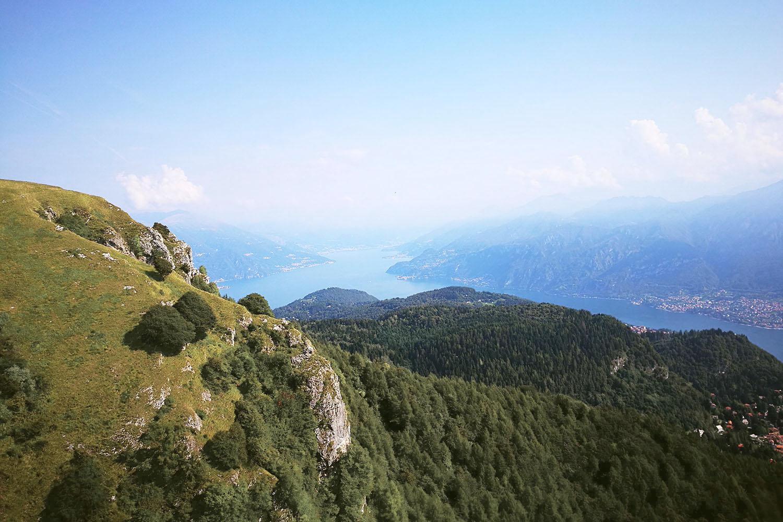 San Primo Panorama Lago